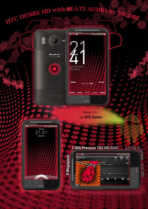 themes for htc desire z free download htc desire hd with beats audio theme by noone00 on deviantart