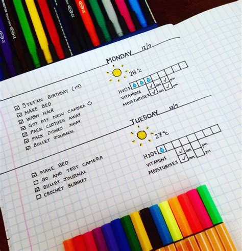 layout instagram buzzfeed 29 bullet journal layouts for anyone trying to be healthy