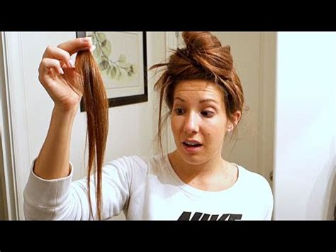 wives cutting hair short for husbands husband cuts a chunk out of wife s hair youtube