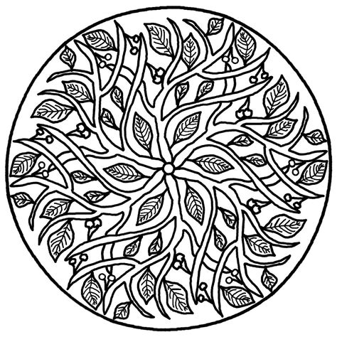 mandala coloring pages on free coloring pages of therapy mandalas