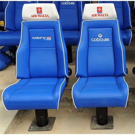 stadium bench seat cobra stadium seat base fixing stand gsm sport seats