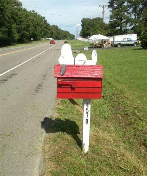 dog house mailbox snoopy mailbox laying on back diy wood pinterest snoopy dog houses and house
