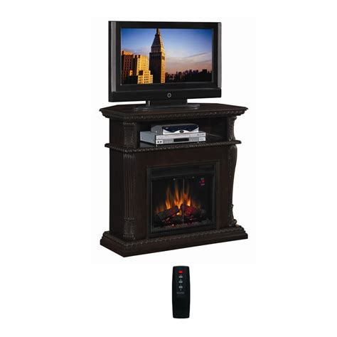 wide electric fireplace classic corinth collection 42 wide advantage wall