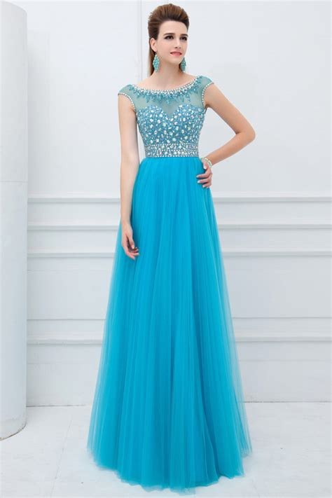 Longdress Cap cap sleeve prom dress