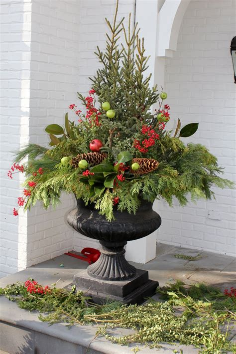 outdoor planter ideas 5th and state winter containers ideas for diy