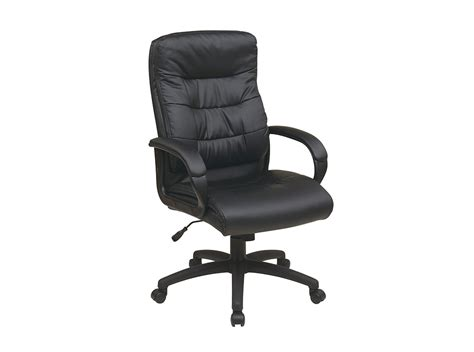Black Leather Office Chair by Black Leather Executive Chair
