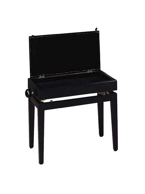 height of piano bench stagg pb55 bkp adjustable height piano bench stagg