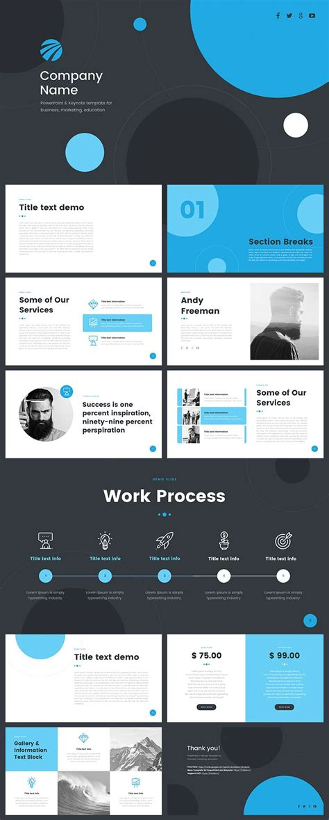powerpoint templates free download quantum keynote templates for powerpoint free download image