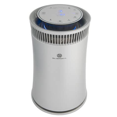 silveronyx air purifier with true hepa filter soairpurifier5ssilver walmart