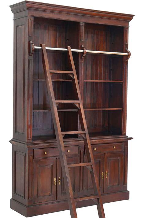 regal bibliothek bibliothek mit anlegeleiter moreko gmbh