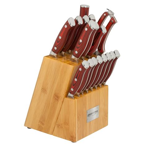 red kitchen knives red kitchen knife block set kitchen decor sets