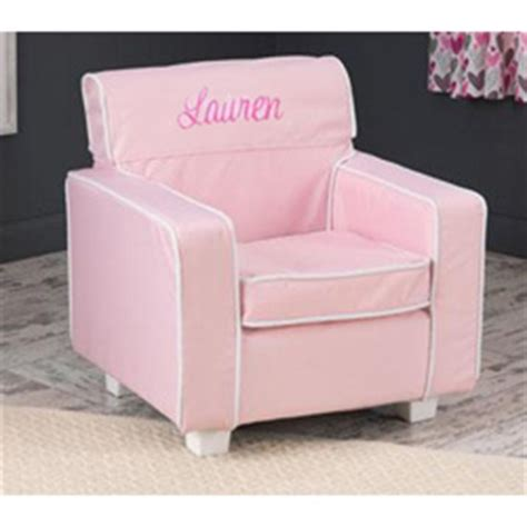 personalized kids sofa personalized pink laguna toddler chair with slip cover by