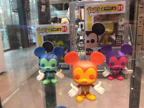 Exclusive Vinyl Nyc - special funko mickey mouse colorways available at mickey