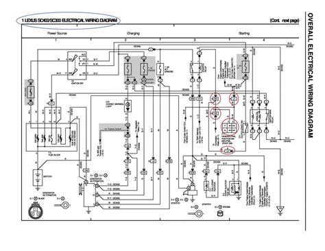 sc300 alternator wiring diagram 31 wiring diagram images