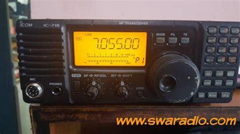 Icom Ic 718 Ori dijual cepat icom hf ic 718 100 watt swaradio