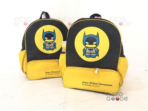 Tas Trolley Anak Bag Ransel Motif Batman tas ransel 4 ruang anak batman surabaya pictogoodie