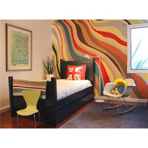 abstract wall mural wall murals beautiful room transformers six different ways