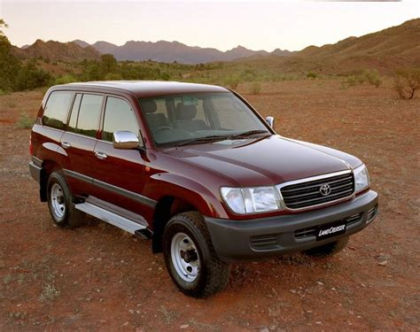 Toyota 80 Series Landcruiser Problems Review Toyota 100 Landcruiser 1998 07