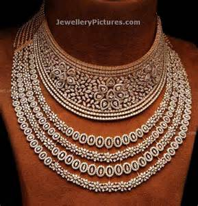 diamond necklaces designs in choker and necklace style diamond jewellery designs with price jewellery designs