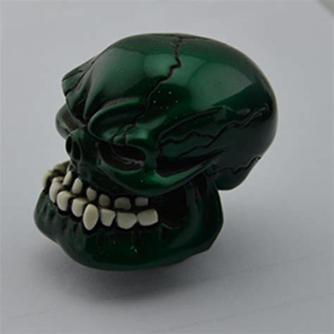 Custom Gear Shift Knobs Trucks by Shiny Cyan Custom Human Skull Stick Shift Gear Shifter