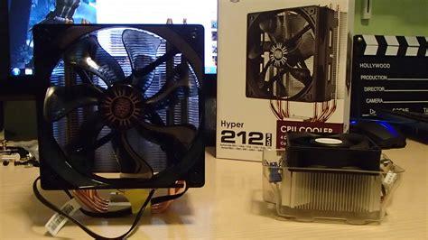 evo 212 fan size coolermaster hyper 212 evo e vortex 211q recensione