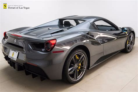 ferrari 488 convertible 2017 used ferrari 488 spider convertible at towbin