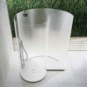 freistehende dusche what are some new shower designs elliott spour house