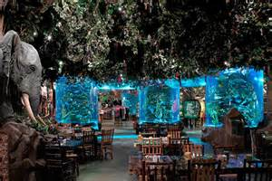 Rainforest Cafe Rainforest Caf 233 Aquarium Restaurant Icm International