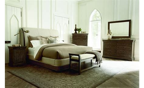 California King Sleigh Bedroom Set by A R T Furniture St Germain California King Upholstered