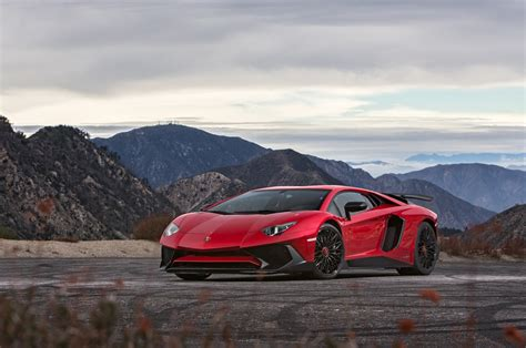 first lamborghini aventador 2015 lamborghini aventador sv first test review