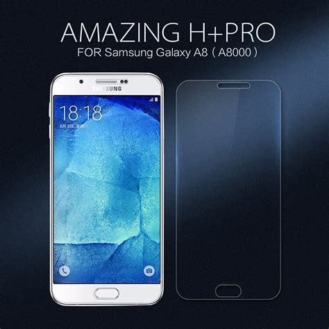 Clear Tempered Glass Samsung Galaxy A8 A8 Plus A7 A730 2018 6 Screen nillkin amazing h pro tempered glass screen protector for