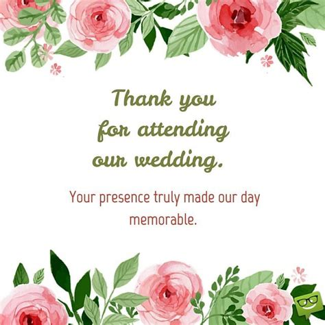 Wedding Wishes Worksop by Thank You Messages On Cards That Express Gratitude