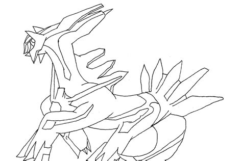 pokemon dialga coloring pages images pokemon images