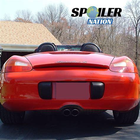 porsche boxster rear 1997 2004 porsche boxster turbo style rear spoiler