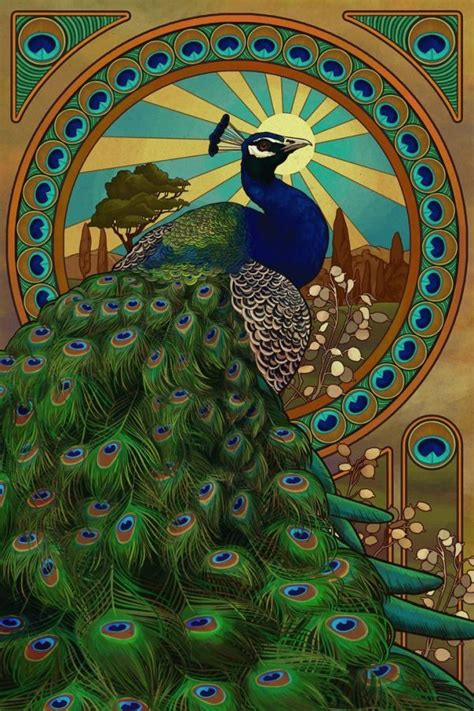 Painting 200x80cm 2 Peacock peacock inspirations peacock envy peacocks social and deco