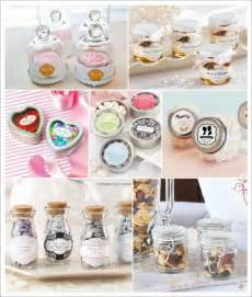 Mini Bocal Verre Dragees