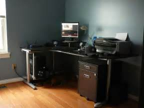 Jerker Computer Desk by Computer Desk For Certain Quality My Office Ideas