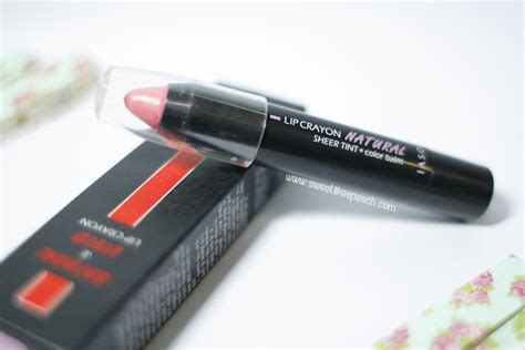 Iaso Tint Lip Crayon No1 Pink ririeprams indonesia iaso lip