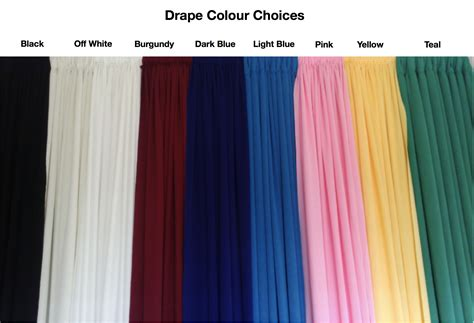 curtain backdrop rental allcargos tent event rentals inc drape fabric colours