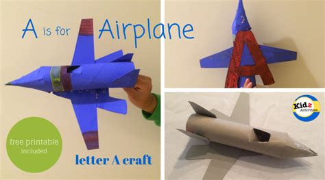 airplane craft for a is for airplane craft kidz activities