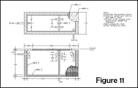 layout plan of septic tank civil and environmental engineering international senior
