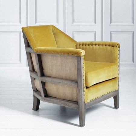 Mustard Yellow Velvet Armchair Loving The Vintage Clubby Feel Of This Velvet Chair A