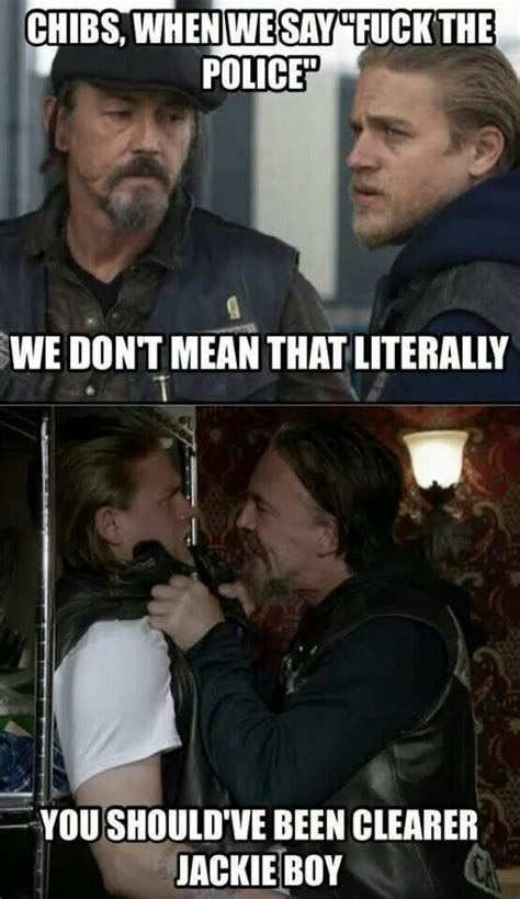 Soa Meme - 112 best images about sons of anarchy on pinterest