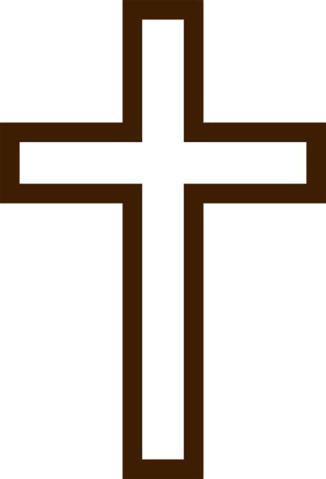 cross clipart brown cross clip at clker vector clip