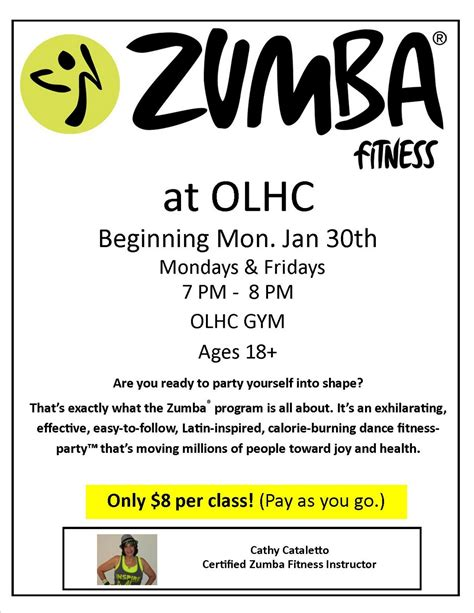 zumba flyer template free best free home design idea