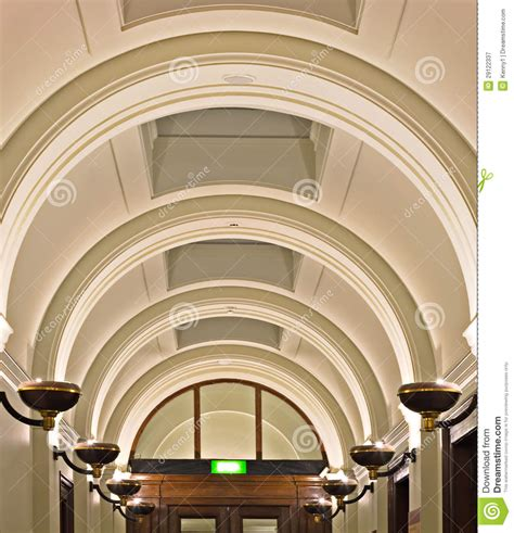 Arched Ceilings by Ornate Arched Ceiling Royalty Free Stock
