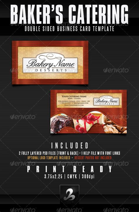 catering visiting card templates catering flyer exles 187 tinkytyler org stock photos