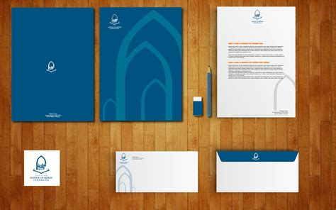 house of quran corporate identity house of quran ponco design
