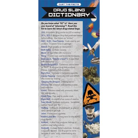 Rack Dictionary Just The Facts Slang Dictionary Rack Cards