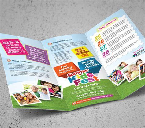 templates brochure kindergarten attractive kindergarten brochure template 15 download